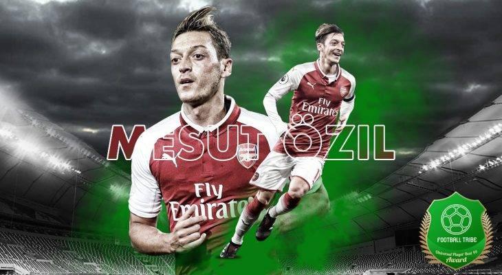 Football Tribe 44 Universal Player Awards: Jom undi Mesut Özil!