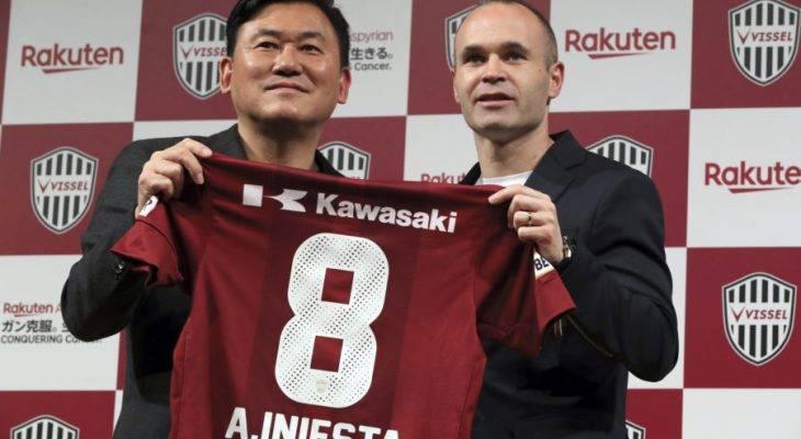 Iniesta beri sebab kenapa pilih sertai Vissel Kobe