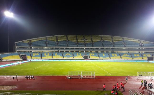 Perlawanan PKNP vs Selangor di Stadium Batu Kawan sah ditangguhkan