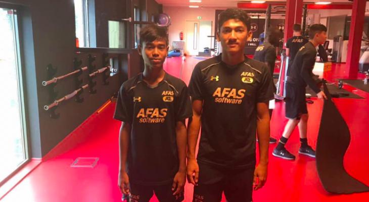 Dua pemain Akademi Mokhtar Dahari jalani ujian bersama kelab Belanda
