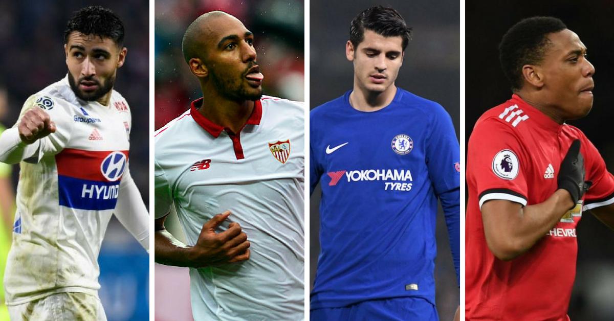Koleksi transfer rumours terhangat di Eropah: 25 Mei 2018