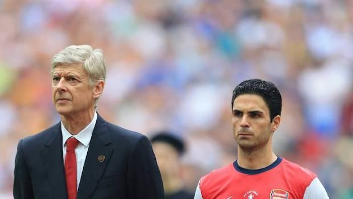 Arsene Wenger dokong Mikel Arteta sebagai pilihan untuk terajui Arsenal