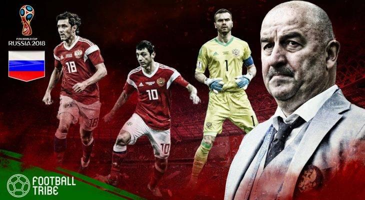 Profil Russia di Piala Dunia 2018: Keyakinan tinggi Beruang Merah di laman sendiri