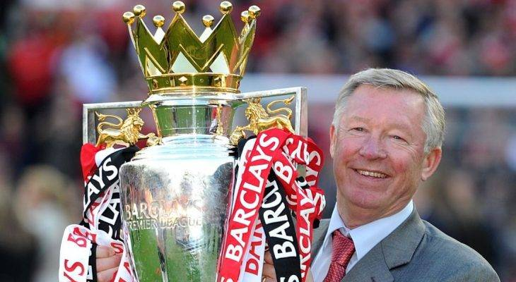 Sir Alex Ferguson's terse and cautious response to Manchester United title challenge