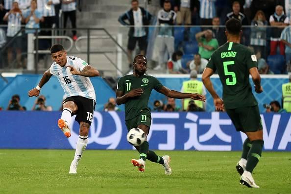 Analisis: Argentina bangkit, Marcos Rojo ranapkan impian Nigeria