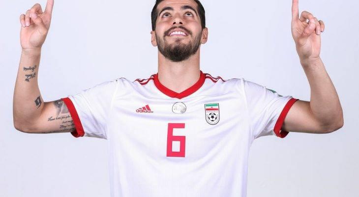 Saeid Ezatolahi, pemain muda Iran yang dikenali di Sepanyol dan Russia