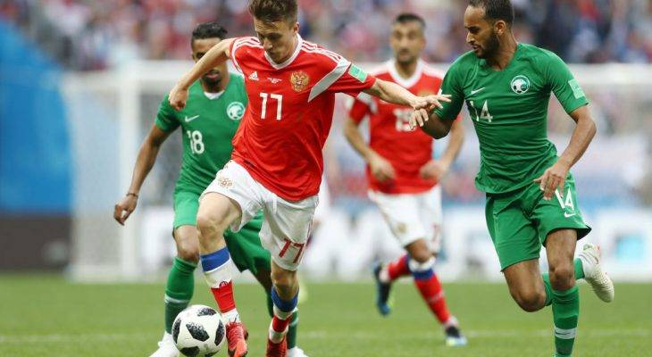 Tribe Ratings Pemain: Golovin pemain terbaik Rusia, ke mana Al-Sahlawi menghilang?