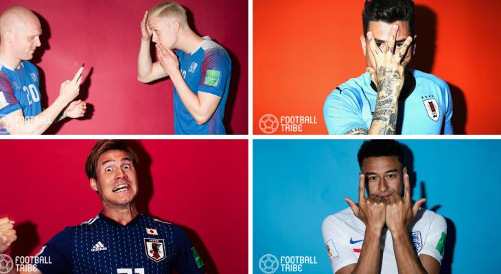 Koleksi foto lucu daripada sesi fotografi Getty Images di Piala Dunia 2018 (Bahagian 2)