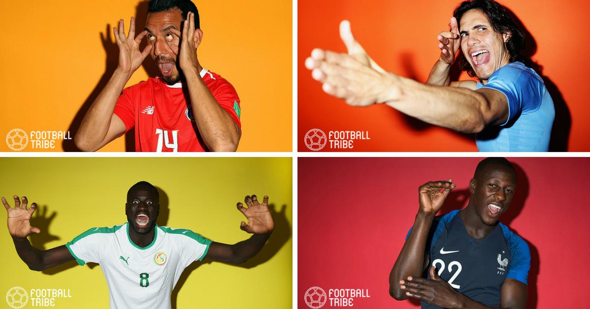 Koleksi foto lucu daripada sesi fotografi Getty Images di Piala Dunia 2018 (Bahagian 1)