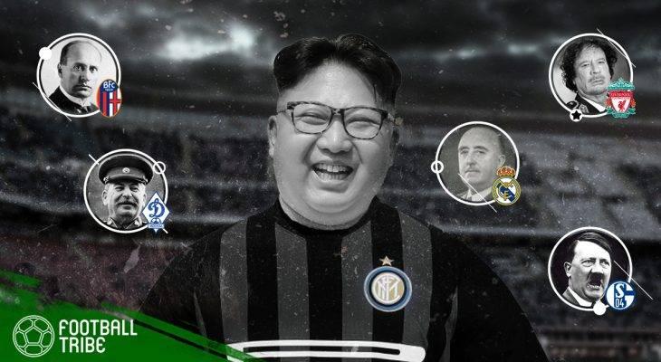 Diktator kejam di seluruh dunia dan kelab bolasepak yang diminati mereka