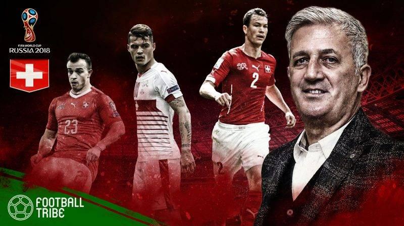 Previu Switzerland di Piala  Dunia 2018: Misi Schweizer Nati mengubah status 'underdog'
