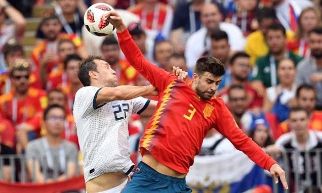 Tangan-tangan nakal di Piala Dunia 2018