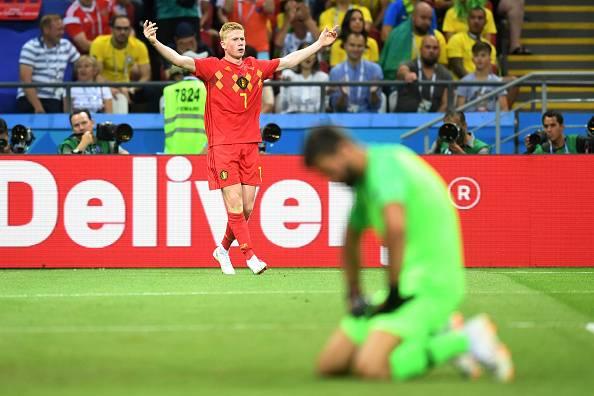 Analisis: Rembatan bak laser Kevin De Bruyne bantu Belgium hantar Brazil pulang