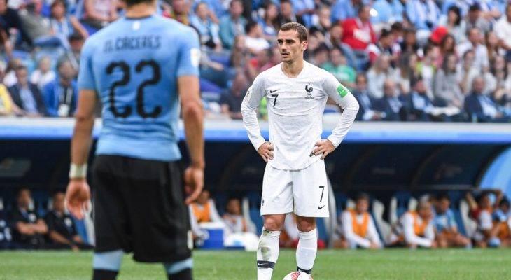 Koleksi statistik menarik pertembungan antara Uruguay dan Perancis