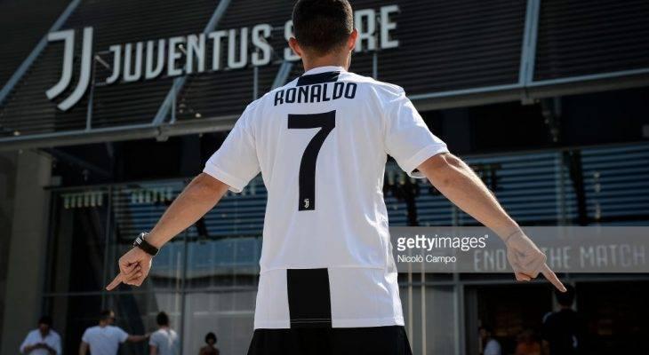 Baru berpindah ke Juventus, €55 juta euro jersi Cristiano Ronaldo terjual