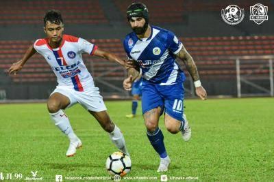 Perlawanan Kuala Lumpur vs Felcra FC ditunda ke hari Ahad