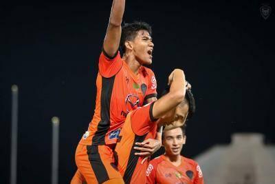 Selepas dua bulan di Thailand, Shahrel Fikri akhirnya jaringkan gol pertamanya