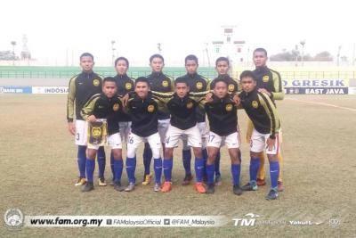 Bakal bertemu Indonesia B16 di separuh akhir, ini prestasi Malaysia B16 dalam Kejohanan AFF B16 2018