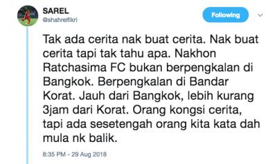 Shahrel Fikri bidas spekulasi dia mahu kembali ke Malaysia