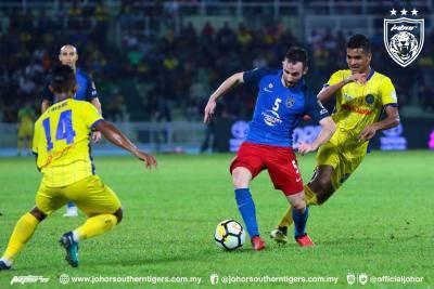 Johor DT 1-1 Pahang: Jaringan lewat Safuwan Baharuddin jadi penyelamat Tok Gajah