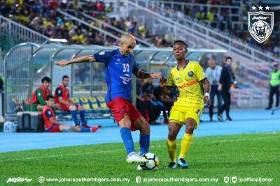 VIDEO: Saksikan highlight perlawanan Pahang 1-1 Johor Darul Ta'zim