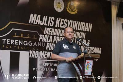 Presiden PBSNT umum insentif RM280,000 untuk TFC III dan TFC IV