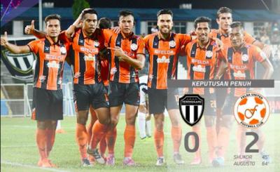 Felda United 1-2 Terengganu: Skuad Penyu tumpaskan Fighters di Jengka