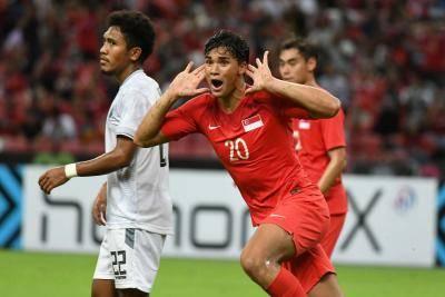 Piala AFF Suzuki 2018 : Singapura Pesta Gol