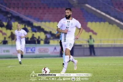 Melaka United Hilang Khidmat Liridon
