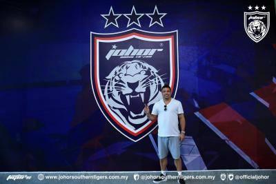 Ronaldo Turun Ke Johor