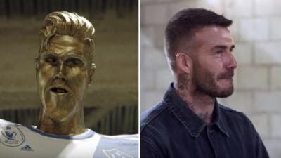 Beckham Jadi Mangsa Gurauan James Corden