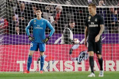 Thibaut Courtois dakwa Real Madrid tidak adil