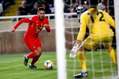 Belgium menang mudah ke atas Cyprus