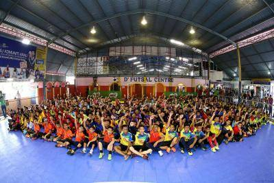 Futsal mampu kurangkan masalah sosial – Ramli Sanusi, CT Nur Nilam