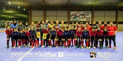Futsal : Pasukan wanita Kedah FA belajar daripada pengalaman Perak FA