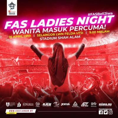 Selangor adakan malam 'Ladies Night', Selasa ini
