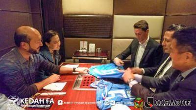 Kedah jalin kerjasama dengan kelab Jepun