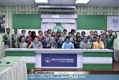 13 pemain kebangsaan perkuatkan Melaka
