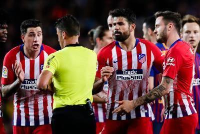 Diego Costa terima padah selepas hina mak pengadil