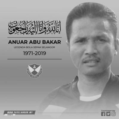 Anuar Abu Bakar, dalam kenangan