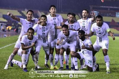 Melaka ratah Felda enam gol tanpa balas