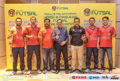 Figos taja skuad Futsal Kedah