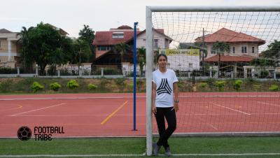 Wanita dan bola sepak, sehari bersama dengan Steffi Sarge Kaur