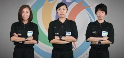 Tiga pengadil wanita cipta sejarah di peringkat dunia dan AFC