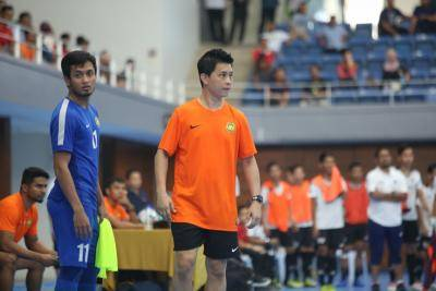 Chun Yong dalam proses dapatkan Lesen Pro Futsal