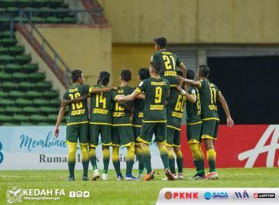 Liga Super : Kedah 'berpeluh' jinakkan PKNS FC