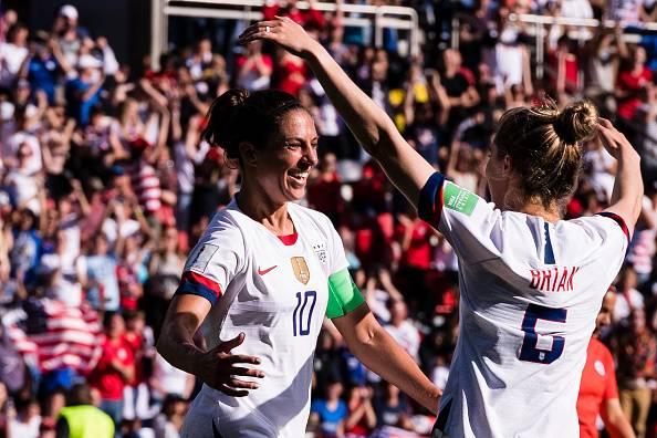 Piala Dunia Wanita : Carli Lloyd catat rekod baharu, USA dan Sweden ke pusingan kalah mati