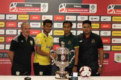 Shopee Final Piala FA : Shahrul mahu lawan abang