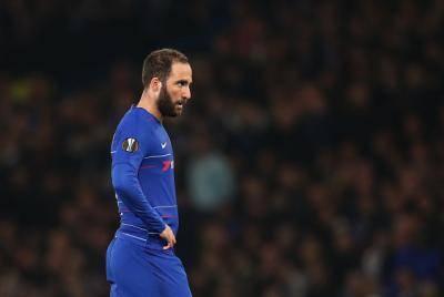 Rasmi : Higuain tinggalkan Chelsea, bakal serta Sarri di Juventus