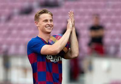 Statistik menunjukkan De Jong adalah harapan baharu Barcelona
